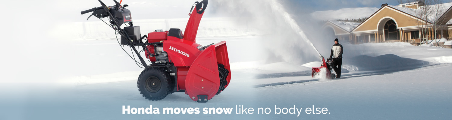 Snowblower House